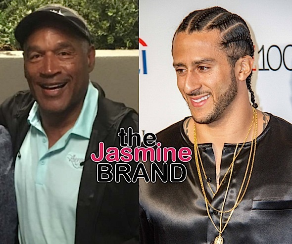 O.J. Simpson Slams Colin Kaepernick - He Made A Bad Choice Attacking The Flag