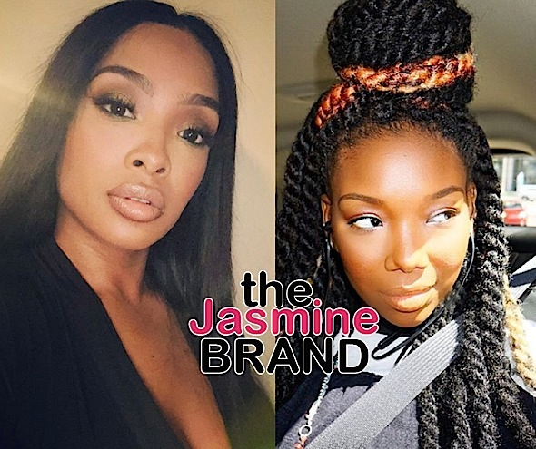 Princess Love Threatens To Expose Singer Brandy: Shut The F**k Up!