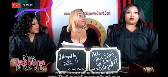 "Lil Mo & Shekinah Replace Khia On ""Queens Court"""