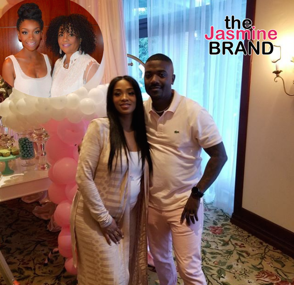 Ray J's Mom Explains Why She & Brandy Did Not Attend Princess Love's Baby Shower