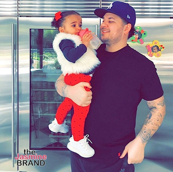 2-Year-Old Dream Kardashian Throws Rob Kardashian A St. Patrick's Day Birthday Party, Kardashian's & Ex Black Chyna Share Well Wishes