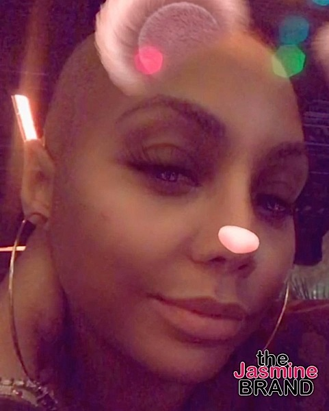 Tamar Braxton Shaves Her Head Bald!
