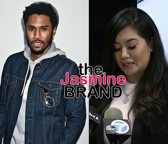 Trey Songz Alleged Victim Says He Choked, Punched & Gave Her A Concussion – I'm Vomiting From Migraines!