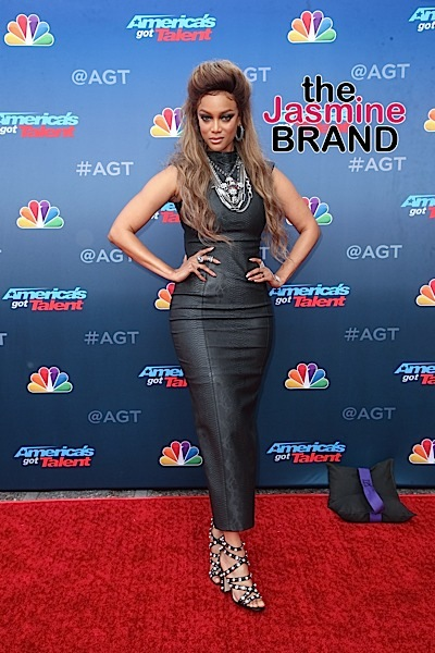 Tyra Banks Reacts To Engagement Rumors