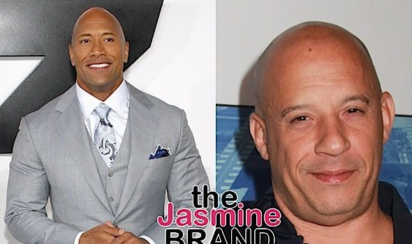 "Dwayne ""The Rock"" Johnson Admits Not Filming Scenes w/ Vin Diesel: We have a fundamental difference in movie making."
