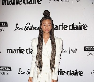 Actress Storm Reid Has Advice For Getting Ready For 2020: Drink your water, stay in your bag & inspire!""