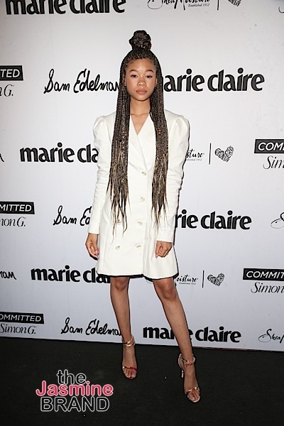 """Actress Storm Reid Has Advice For Getting Ready For 2020: Drink your water, stay in your bag & inspire!"""""""