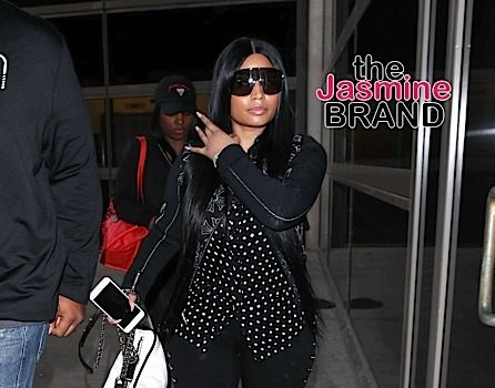 Nicki Minaj Makes Rare Public Appearance [Celebrity Stalking]