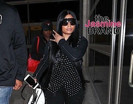 Nicki Minaj Makes Rare Public Appearance[Celebrity Stalking]