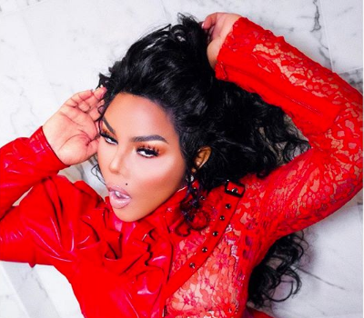 Lil Kim Goes Red In New Shoot [Spotted. Stalked. Scene.]