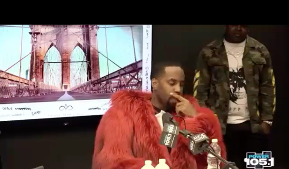 Safaree Cries During Interview: Someone Put A Gun To My Head & Robbed Me!
