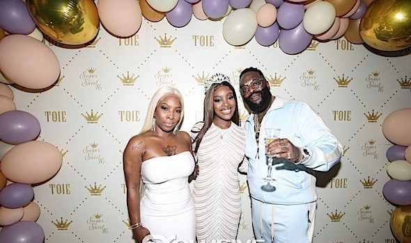 Rick Ross Throws Daughter Lavish Sweet 16, Buys Her A Bentley Truck [Photos]
