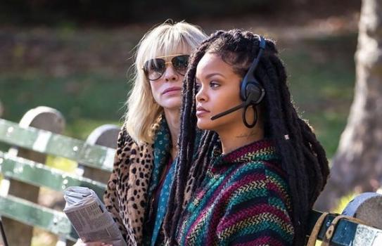 """Ocean's 8"" Trailer Starring: Sandra Bullock, Cate Blanchett, Anne Hathaway, Mindy Kaling & Rihanna"