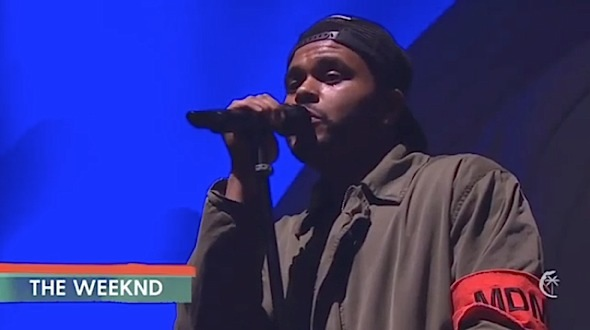 The Weeknd Almost Cries Singing Selena Gomez Inspired Song [VIDEO]