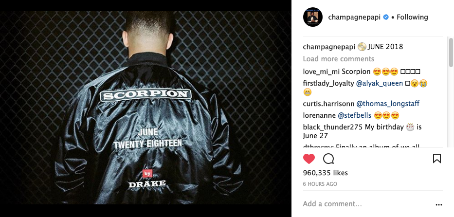 Drake Reveals Name of New Album