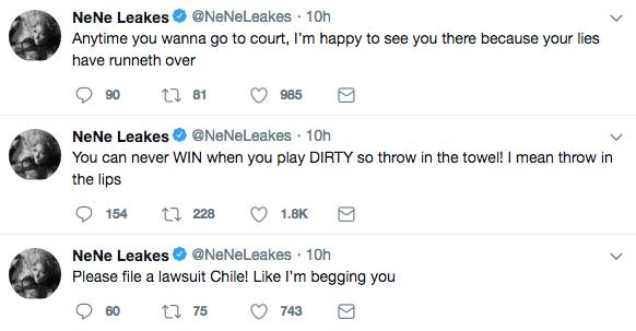 NeNe Leakes to Kim Zolciak: I'm BEGGING You to Sue Me!