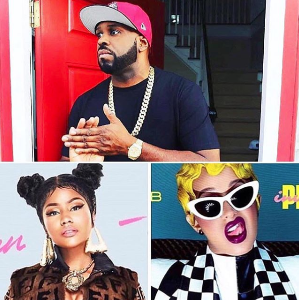 Cardi B Has A Ghostwriter & Still Can't Compete w/ Nicki Minaj According to Funk Flex