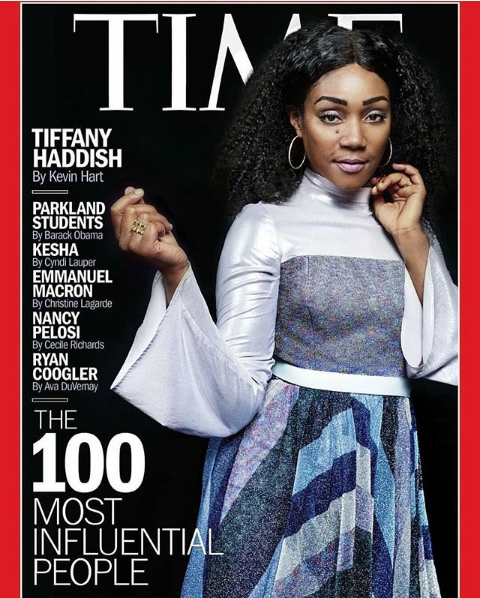 Tiffany Haddish, J.Lo & Tarana J. Burke Land List of 100 Most Influential People