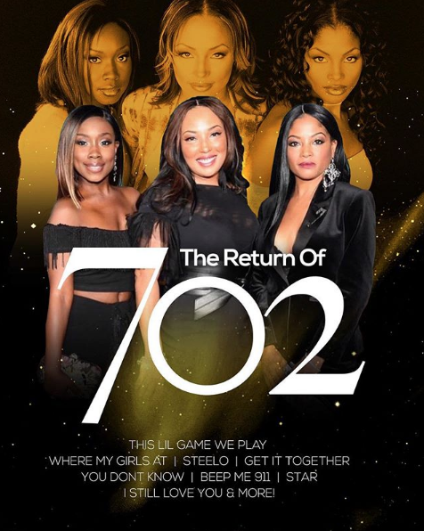 Girl Group 702 Reunites: We're Going On Tour!