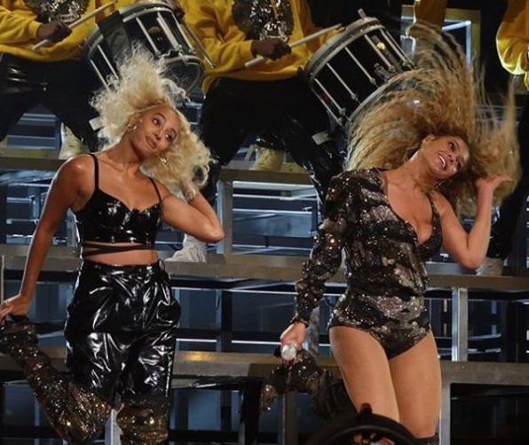 Beyonce Hits Coachella For 2nd Time, Brings Out Destiny's Child, Solange & Jay-Z [Photos]