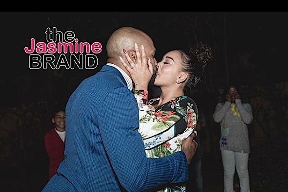 Derek Fisher Proposes To Gloria Govan! [Photos]