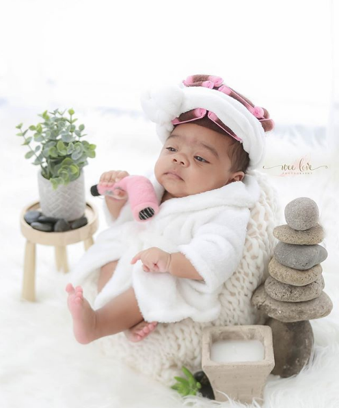 Toya Wright's Newborn Daughter Hits the Spa [VIDEO]