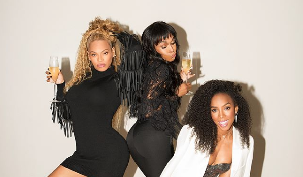 Beyonce, Kelly Rowland & Michelle Williams Spark Destiny's Child Rumors w/ New Shoot [Photos]