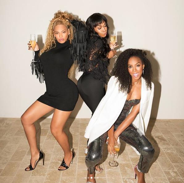 Beyonce, Kelly Rowland & Michelle Williams Spark Destiny's Child Rumors w/ New Shoot [Photos]