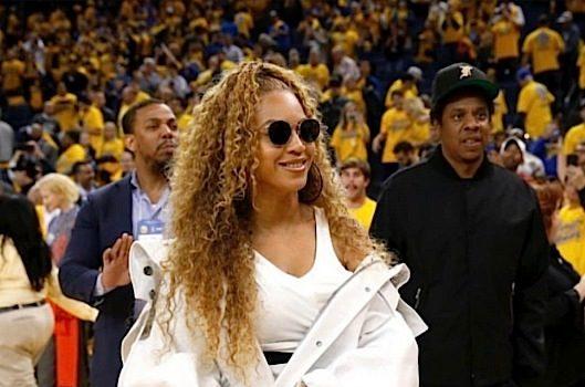 Beyonce Rocks Alexander Wang, Calvin Klein & YSL To Warriors Game [Celebrity Fashion]