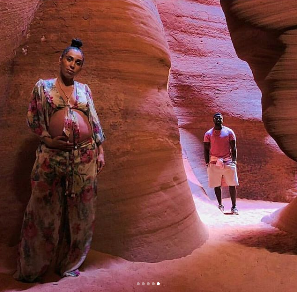 Lance Gross' Wife Hits The Desert For Maternity Shoot [Photos]