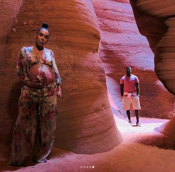 Lance Gross' Wife Hits The Desert For Maternity Shoot [Photos]