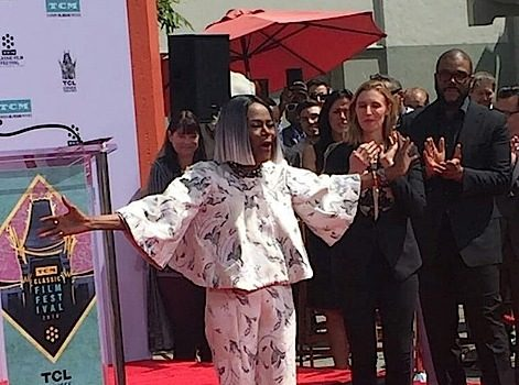 Cicely Tyson Honored In Handprint Ceremony [Photos]