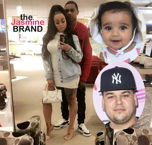 Rob Kardashian Doesn't Want Daughter Dream Around Blac Chyna's New Boyfriend YBN Almighty Jay