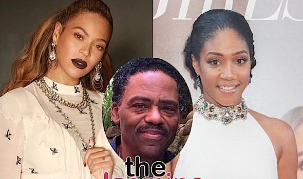 Tiffany Haddish Lied About Beyonce Bite Story, Says Stepdad Richard Lawson