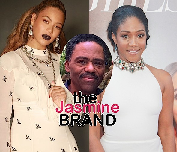 Tiffany Haddish Lied About Beyonce Bite Story, Says Stepdad Richard Lawson