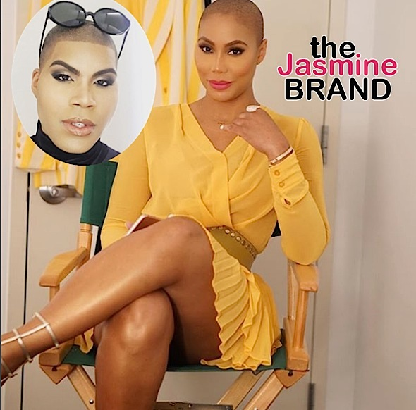 Tamar Braxton – I Don't Care If My Bald Head Makes Me Look Like EJ Johnson + Singer Denies Shading People
