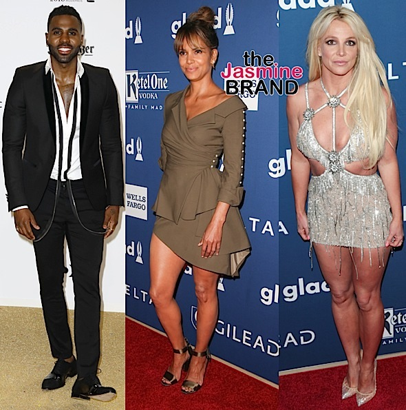 Keegan-Michael Key, Rita Ora, Jason Derulo, Halle Berry & Britney Spears [Celebrity Stalking]