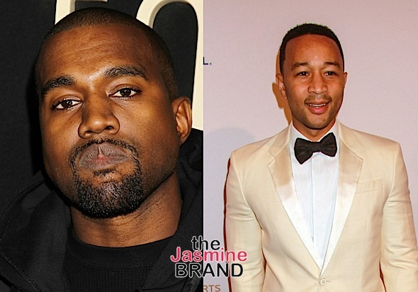 Kanye West Posts Private Text Message From John Legend