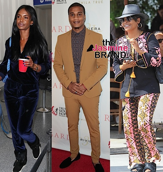 Tiffany Haddish, Larry Wilmore, Salim Akil, Kim Porter, Cory Hardrict + Nia Long [Celebrity Stalking]