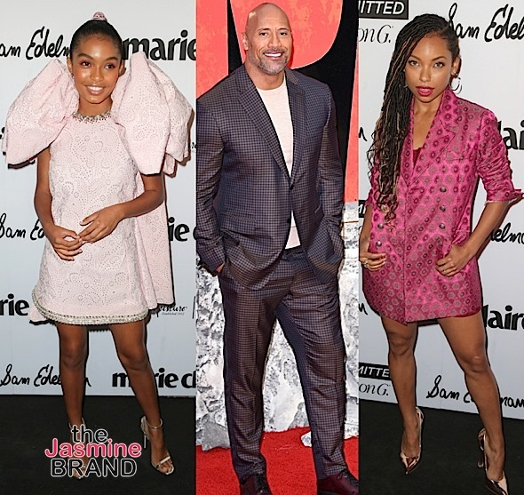 Storm Reid, Jeannie Mai, Yara Shahidi & Logan Browning Attend Fresh Faces in Hollywood + The Rock & Naomie Harris Hit 'Rampage' In London [Celebrity Stalking]