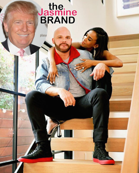 Michelle Williams Fiance Is A Trump Supporter ... K Michelle And Chad Johnson
