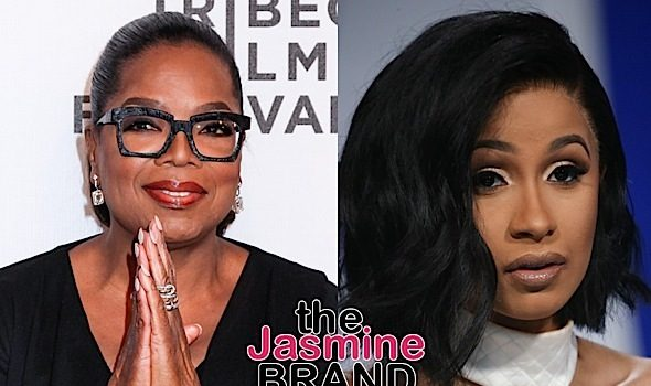 Oprah Says She's Listening To Cardi B