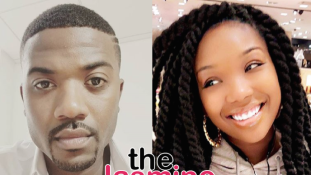 Brandy Defends Brother Ray J, Tells Critic: You Know What They Call Me So You Need To Chill!
