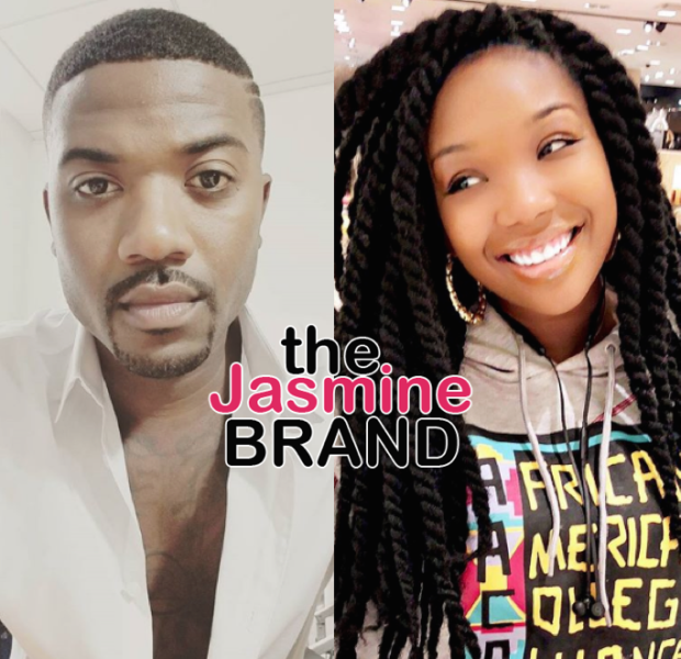 Ray J Reacts To Sister Brandy's Recent Weight Gain