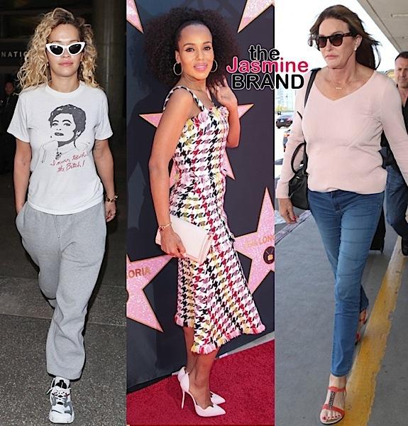 Eva Longoria, Bella Hadid, Rita Ora, Kerry Washington & Caitlyn Jenner [Celebrity Stalking]