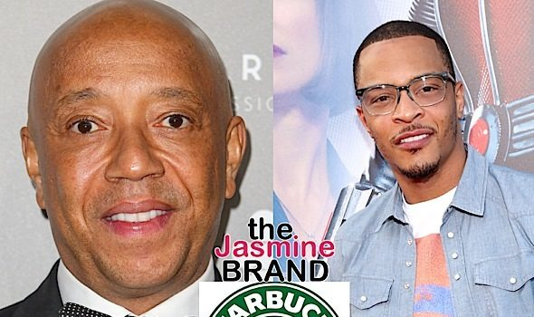 T.I. & Russell Simmons – We Need To Boycott Starbucks!
