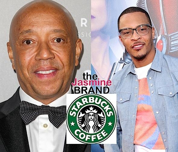 T.I. & Russell Simmons – We Need To Boycott Starbucks!