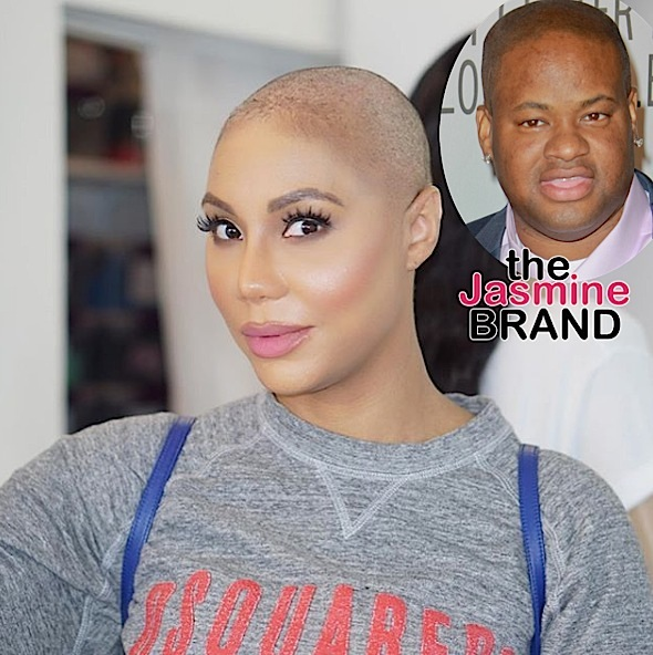 Tamar Braxton Confirms Marriage w/ Vincent Herbert OVER + Glimpse of Her Mystery Bae [VIDEO]