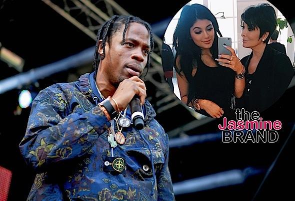 Kylie Jenner Denies Mom Kris Jenner Is Managing Boyfriend Travis Scott