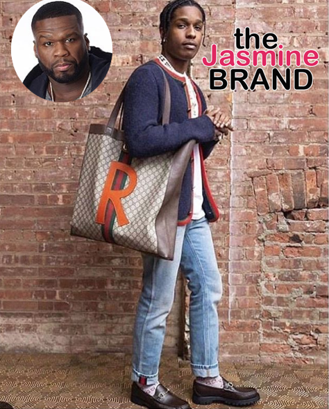 50 Cent Calls Out A$AP Rocky Wearing Male Purse